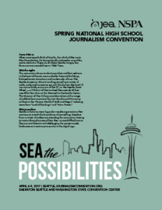 JEA/NSPA National High School Journalism Convention Spring 2017 Registration Booklet – Seattle (PDF)